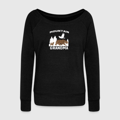 MOUNTAIN Grandma - Women's Wideneck Sweatshirt