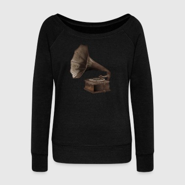 Recording Engineer Victorla Brown - Women's Wideneck Sweatshirt