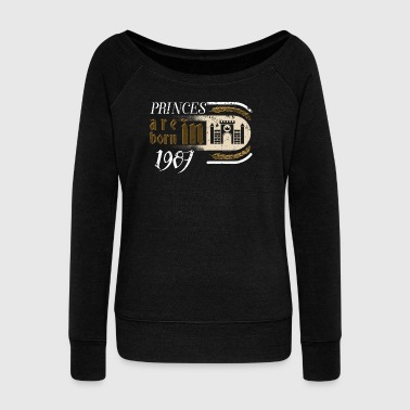 Gothic Birthday Princes Castle Born 1987 - Women's Wideneck Sweatshirt