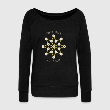 Tinker Tinker Little Star - Women's Wideneck Sweatshirt
