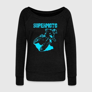 Supermoto Hypermoto Drift - Women's Wideneck Sweatshirt