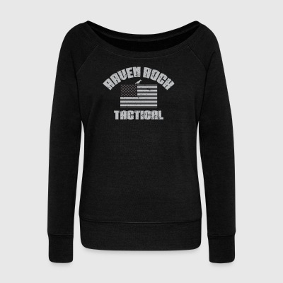 Raven Rock Tactical USA - Urban - Women's Wideneck Sweatshirt