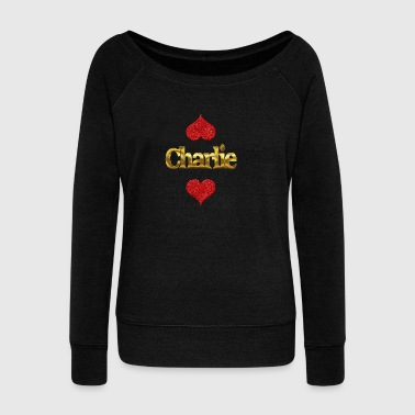 Charlie - Women's Wideneck Sweatshirt