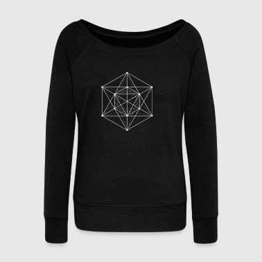 metatron - Women's Wideneck Sweatshirt