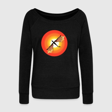 Sun Dragon - Women's Wideneck Sweatshirt
