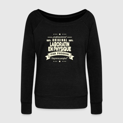 Laboratin in Original Physics - Women's Wideneck Sweatshirt