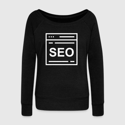 SEO - Women's Wideneck Sweatshirt