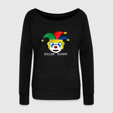 Killer Clown - Women's Wideneck Sweatshirt