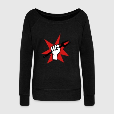 grill - Women's Wideneck Sweatshirt