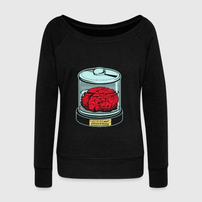 AbNormal do not use this brain - Women's Wideneck Sweatshirt