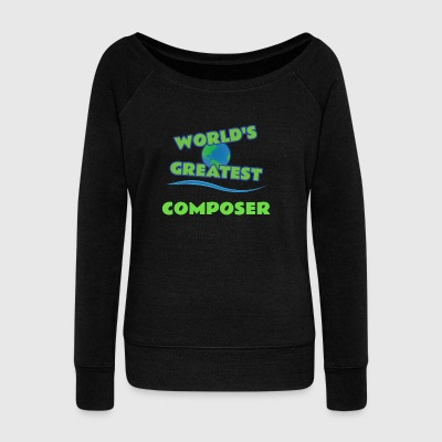 COMPOSER - Women's Wideneck Sweatshirt