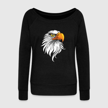 Eagle - Women's Wideneck Sweatshirt
