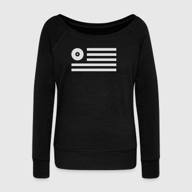 Disc Jockey - Women's Wideneck Sweatshirt