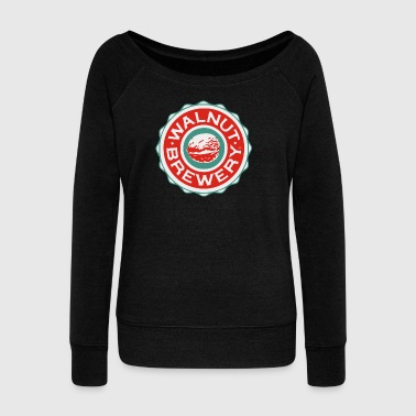 walnut brewery - Women's Wideneck Sweatshirt