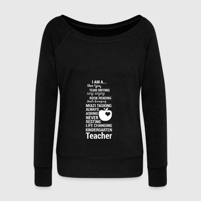 kindergartener - kindergarten teacherin - gift - Women's Wideneck Sweatshirt
