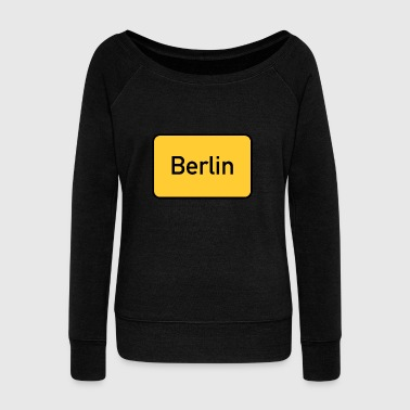 Berlin - Women's Wideneck Sweatshirt