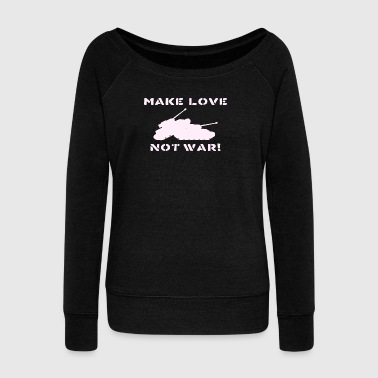 ANTI WAR - Women's Wideneck Sweatshirt