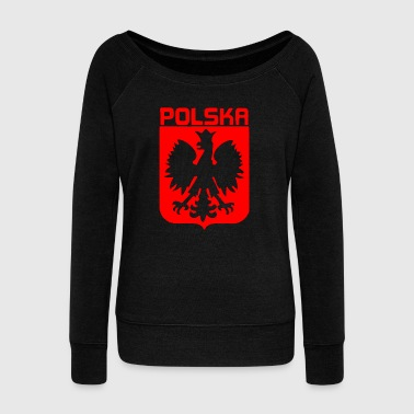 POLAND POLISH POLSKA - Women's Wideneck Sweatshirt