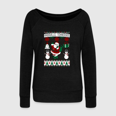 Christmas Ugly Sweater Knoxville Tennessee - Women's Wideneck Sweatshirt