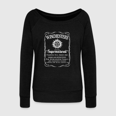 supernatural - Women's Wideneck Sweatshirt