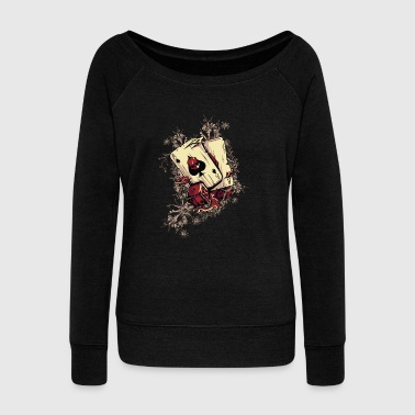 Casino - Women's Wideneck Sweatshirt