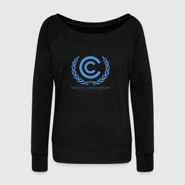 mission innovation - Women's Wideneck Sweatshirt