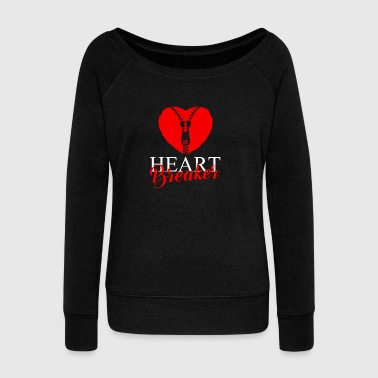 HEARTBREAKER - Women's Wideneck Sweatshirt