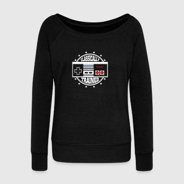 Video Game Nintendo - Women's Wideneck Sweatshirt