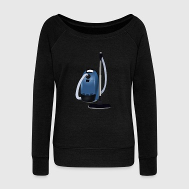 vacuum cleaner - Women's Wideneck Sweatshirt