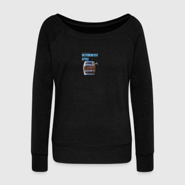Beer Octoberfest - Women's Wideneck Sweatshirt