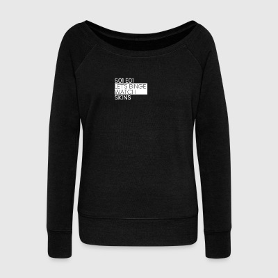 SKINS - Women's Wideneck Sweatshirt
