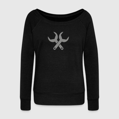 wrench - Women's Wideneck Sweatshirt