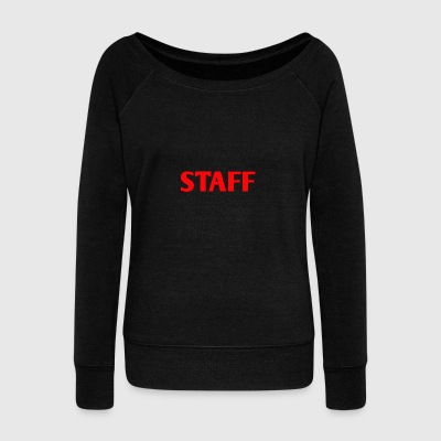 STAFF - Women's Wideneck Sweatshirt