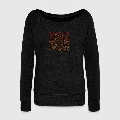 Waves - Women's Wideneck Sweatshirt