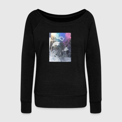 peace - Women's Wideneck Sweatshirt