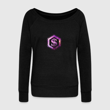 galaxy dollar - Women's Wideneck Sweatshirt