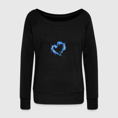 Water - Women's Wideneck Sweatshirt