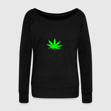 WEED - Women's Wideneck Sweatshirt