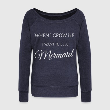 Mermaid - Women's Wideneck Sweatshirt
