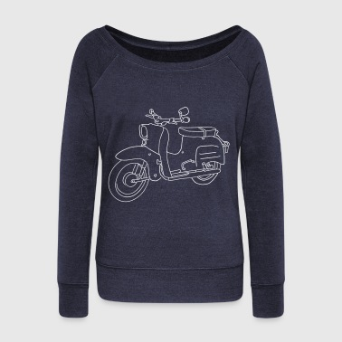 Scooter Scooter - Women's Wideneck Sweatshirt