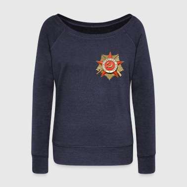 Soviet award - Women's Wideneck Sweatshirt