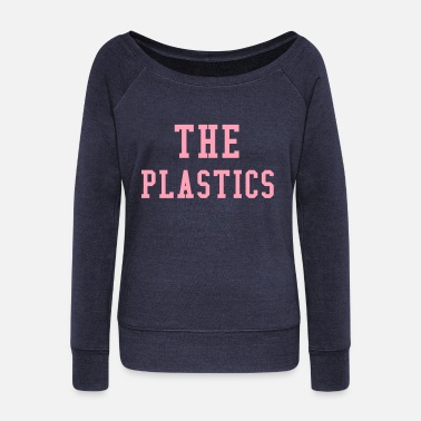 Plastic The Plastics - Women's Wideneck Sweatshirt