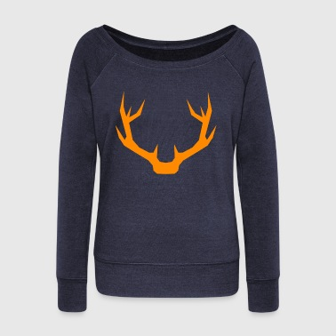 Antlers - Women's Wideneck Sweatshirt