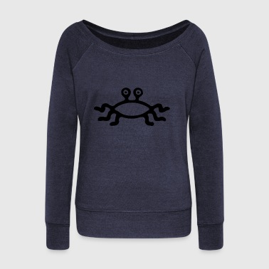 Crab - Women's Wideneck Sweatshirt