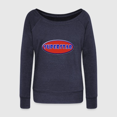 Superstar Superstar - Women's Wideneck Sweatshirt