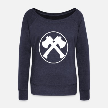 Ax AXE - Women's Wideneck Sweatshirt