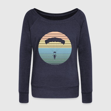 View Paraglider - Women's Wideneck Sweatshirt