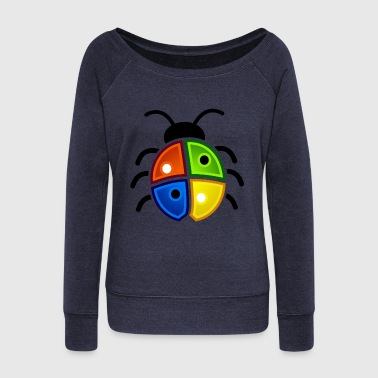 Bug - Women's Wideneck Sweatshirt