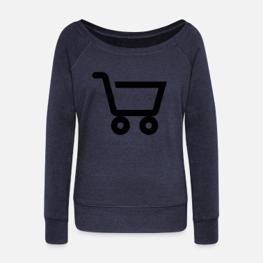 Shopping Shopping - Women's Wideneck Sweatshirt