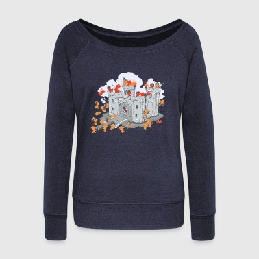 The Siege - Women's Wideneck Sweatshirt